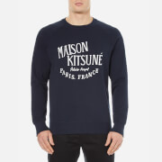 Maison Kitsune Men's Palais Royal Sweatshirt - Navy
