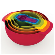 Joseph Joseph Nest Plus Bowl Stacking 9 Piece Set