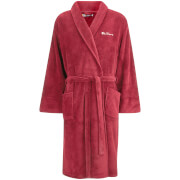 Ben Sherman Men's Fleece Robe - Burgundy
