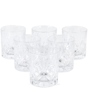 RCR Crystal Melodia Whisky Glasses (Set of 6)