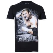 WWE Men's Triple H T-Shirt - Black