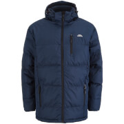 Trespass Men's Clip Waterproof Padded Coat - Navy