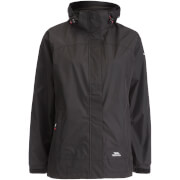 Trespass Women's Nasu 2 Waterproof Jacket - Black