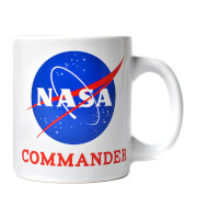 NASA Commander Boxed Mug