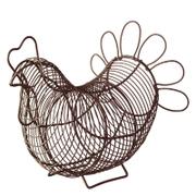 Eddingtons Chicken Egg Basket - Brown