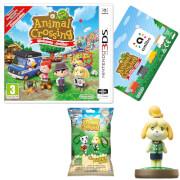 Animal Crossing: New Leaf - Welcome amiibo + Isabelle amiibo + Backpack Buddy