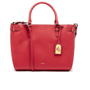 Lauren Ralph Lauren Women's Nikki Satchel - Fiery Red