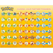 Pokemon Partner Pokemon Mini Poster - 40 x 50cm