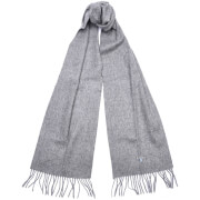 Barbour Plain Lambswool Scarf - Light Grey