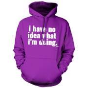 Jaiden I have no idea.. Hoodie - Purple