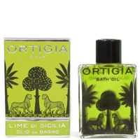 Sicilian Lime Bath Oil d'Ortigia 200ml