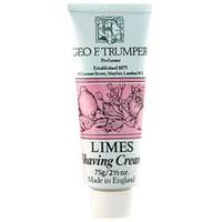 Trumpers Shave Cream - Extract of Limes 75gm Tube