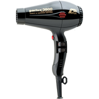 Parlux 3800 Eco Friendly Ionic & Ceramic Hair Dryer - Black