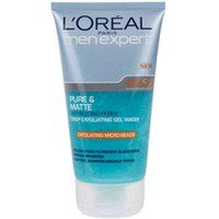 L'Oréal Men Expert exfoliante puro y mate (150ml)