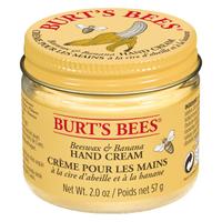 Crema de manos Burt's Bees - Cera de abeja y plátano (57g)