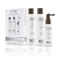Kit Nioxin System 1 - cabello fino natural (3 productos)