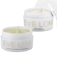 Eve Lom Cleanser 100ml and Rescue Mask 50ml