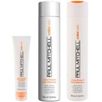 Paul Mitchell Colour Protect Trio- Shampoo, Conditioner & Reconstructive Treatment
