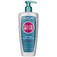 L'Oreal Paris Sublime Bronze Firming Body Lotion Tan Optimiser (250ml)