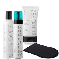 St. Tropez Face and Body Self Tanning Kit - Light/ Medium  (4 Products)