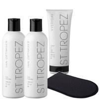 St. Tropez Body Self Tanning Kit - Light/ Medium  (4 Products)