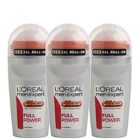 L'Oreal Paris Men Expert Full Power Deodorant Roll-On (50 ml) Trio