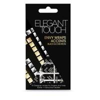Elegant Touch ET Envy Wraps - Black & Chevron Accents