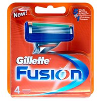 Gillette Fusion Blades (4 Pack)