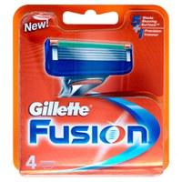 Gillette Fusion Rasierklingen(4 Stück)