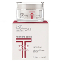 Skin Doctors T-Zone Control No More Pores Crème Raffinage de Nuit (30ml)