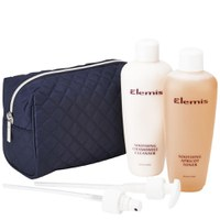 Elemis Super Size Soothing Cleanser Toner Duo (Worth £84.00)