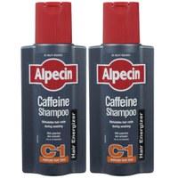 Dúo champú cafeína Alpecin Caffeine Shampoo C1