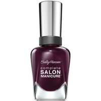 Sally Hansen Complete Salon Manicure Nail Colour - Pat On the Black 14.7ml