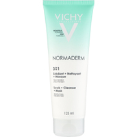 Vichy Normaderm 3-in-1 Scrub, Cleanser and Mask (125ml)