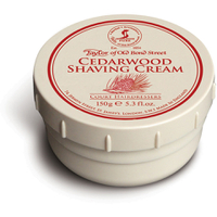 Taylor of Old Bond Street Shaving Cream Bowl - Cedarwood (150g)