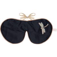 Masque oculaire à la lavandeHolistic Silk -Libellule noire