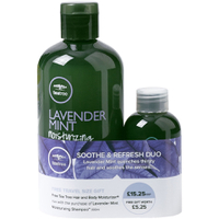 Paul Mitchell Lavender Mint Shampoo with Hair & Body Moisturiser