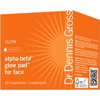 Almohadillas Faciales de Luminosidad Alpha Beta de Dr Dennis Gross (20 unidades)