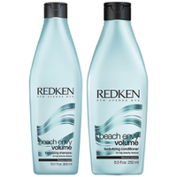 Redken Beach Envy Volume Texturizing Shampoo (300ml) & Beach Envy Volume Texturizing Conditioner (250ml)
