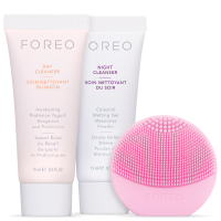 FOREO Holiday Cleansing Must-Haves - (LUNA play) Pearl Pink (Worth £40)