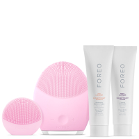 FOREO Holiday T-Sonic Skincare Collection - (LUNA 2 Normal Skin, LUNA play) Pearl Pink