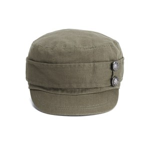 Boardman Bros Women's Button Detail Porter's Cap – Khaki