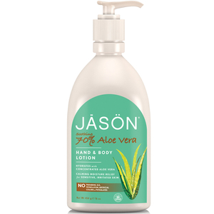 JASON Aloe Vera 70% All Over Body Lotion (454 g)