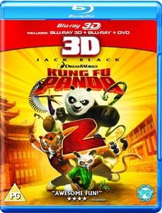 Kung Fu Panda 2 3D (3D Blu-Ray, 2D Blu-Ray and DVD)