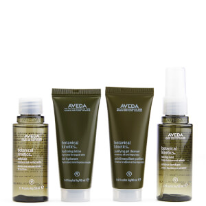 Aveda Botanical Kinetics Water Earth Hautpflege Set - Normal/Fettig (4 Produkte)