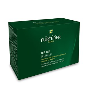 Tratamiento perdida de pelo René Furterer RF 80 Concentrated Hair Loss (12 ampollas)