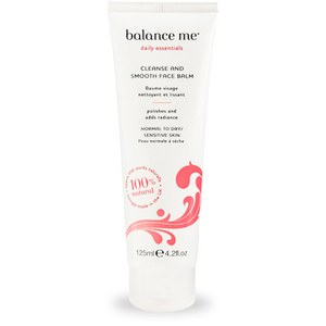 Balance Me Cleanse & Smooth Face Balm (125ml)