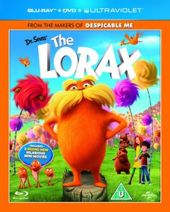 Dr. Seuss The Lorax (Blu-Ray, DVD and UltraViolet Copy)