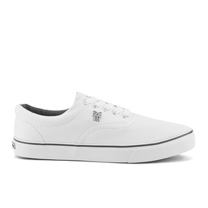 Fenchurch Men's Varial Canvas Pumps - White