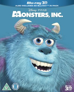 Monsters, Inc. 3D - Limited Edition Artwork (O-Ring)